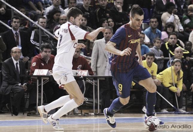 Santiago Futsal - FC Barcelona Alusport: Aicardo vuelve al Fontes do Sar