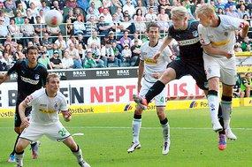Arango lidera la victoria del Mönchengladbach ante el Hoffenheim