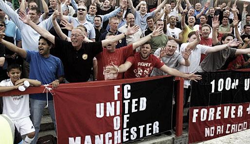 """Fútbol contra el negocio (I): FC United of Manchester, rebeldía """"red"""""""