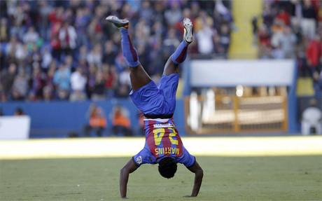 """Martins: """"Estoy feliz por los dos goles"""""""