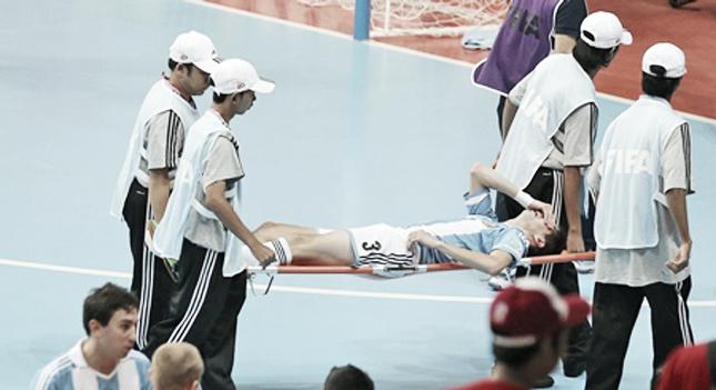 Matías, lesionado de gravedad