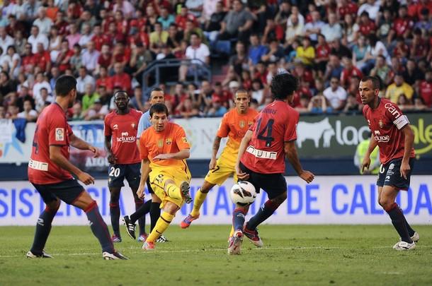 """Messi: """"Lo importante es que el equipo siga ganando y que siga en esta línea"""""""