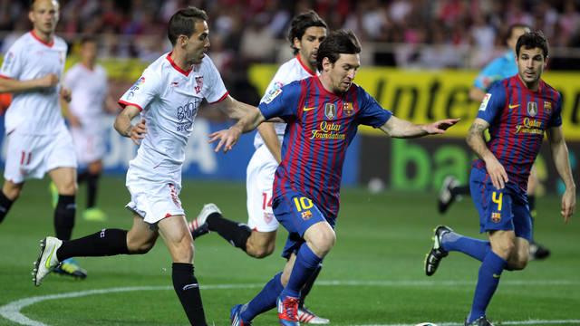 Sevilla-Barcelona: escollo previo al clásico