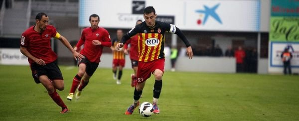 El Mirandés reacciona a tiempo y le empata al Girona