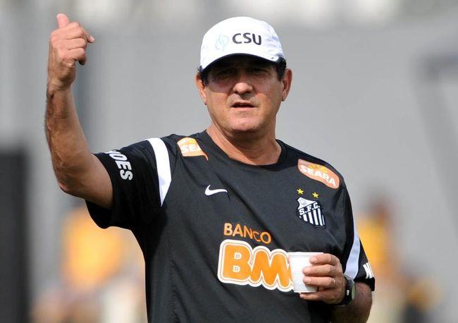 Muricy Ramalho não é mais técnico do Santos