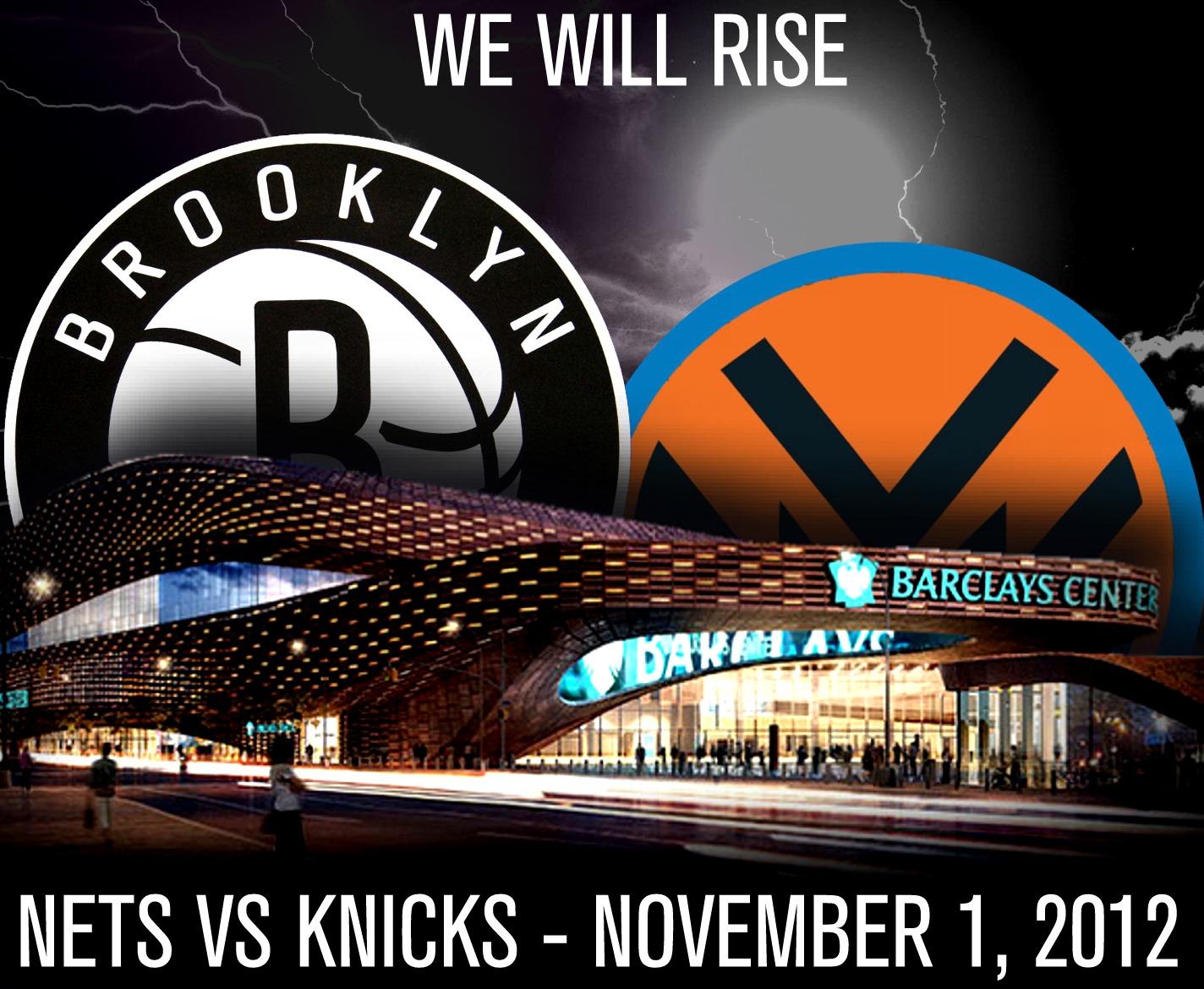 El Nets-Knicks, suspendido por culpa del huracán Sandy