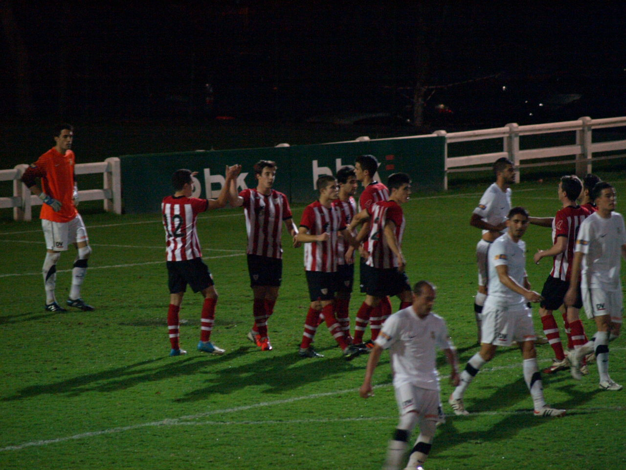 El Bilbao Athletic va muy en serio