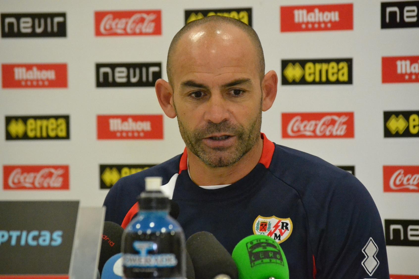 """Paco Jémez: """"Nuestro principal objetivo es quitarle el balón al Barça"""""""