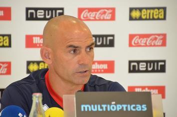 """Paco Jémez: """"Hay que ir con ganas de disfrutar y demostrar lo que sabemos hacer"""""""