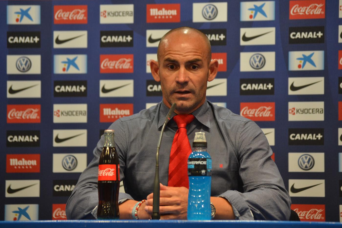 """Paco Jémez: """"Me voy satisfecho con el hecho de que nos hayamos ido para arriba con 4-0"""""""