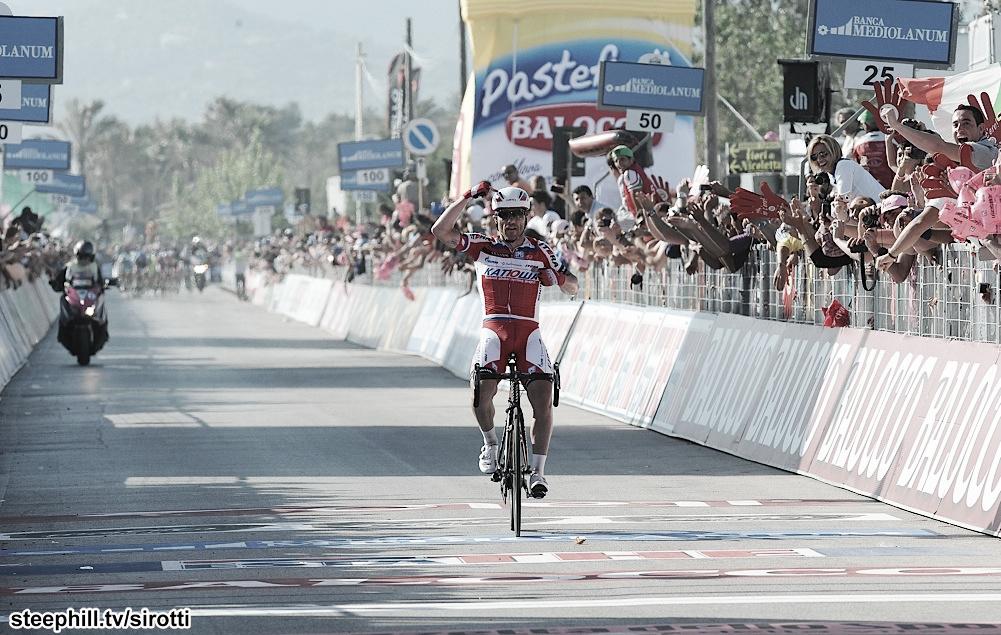 Giro d'Italia - étape 3 : Paolini fait coup double