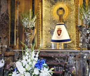 El Real Zaragoza visitará a la Virgen del Pilar