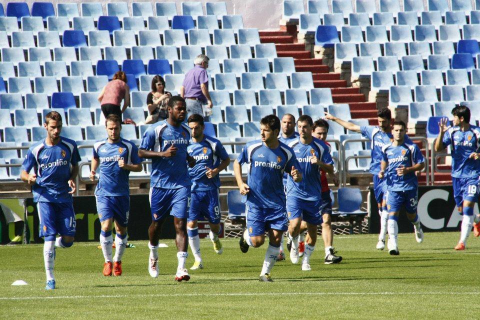 Granada, primer rival del Real Zaragoza en la Copa de SM El Rey