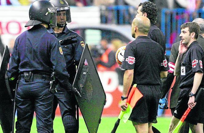 Declarado de alto riesgo el Rayo - Real Madrid