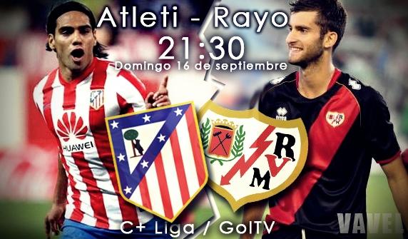 """Atlético de Madrid - Rayo Vallecano: un """"Rayo"""" amenaza con romper la buena senda colchonera"""