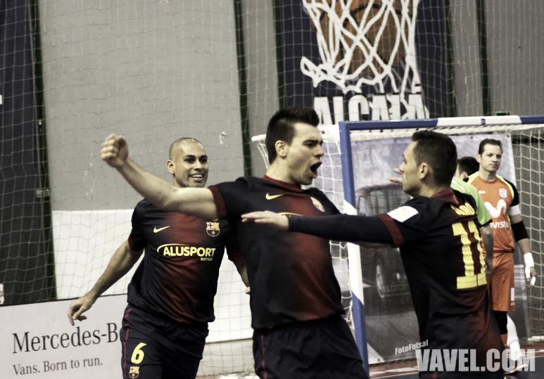 FC Barcelona Alusport - Kairat Almaty: primer escollo