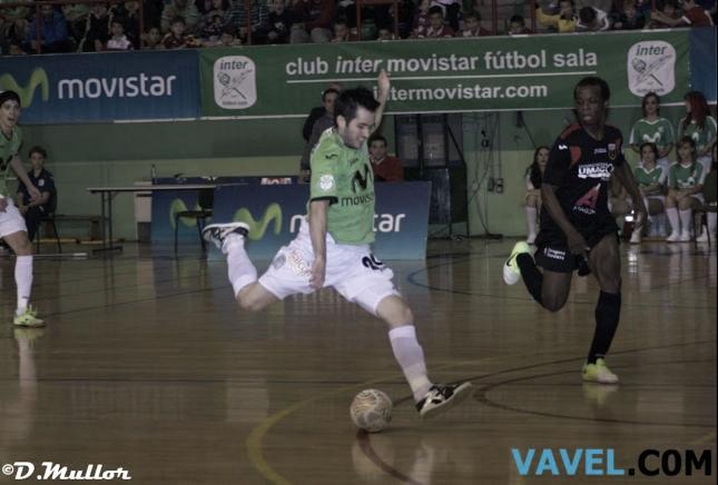 Inter Movistar cumple con sus objetivos y golea a Umacón Zaragoza