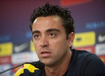 """Xavi: """"Esperamos que nos salga el mismo partido en Madrid"""""""