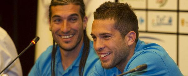 """Jordi Alba: """"Quiero aprender de los mejores jugadores del mundo"""""""