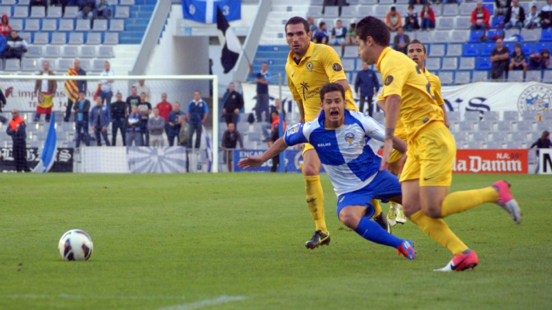 CE Sabadell - Hércules: puntuaciones del Sabadell, jornada 9
