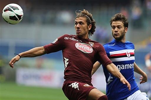 Sampdoria y Torino empatan desde el punto de penalti