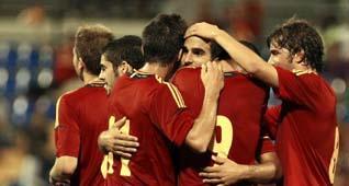 La Selección se da un festival en Alicante