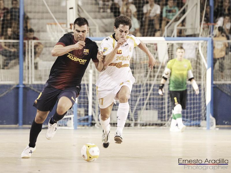Sergio Lozano guía al Barça Alusport ante Melilla