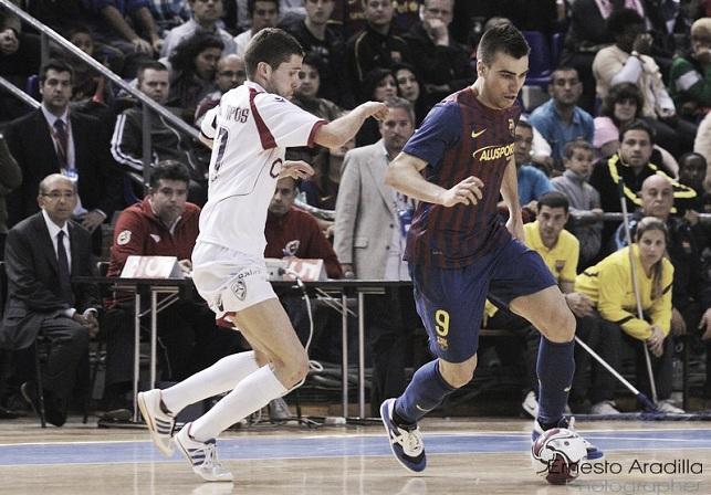 FC Barcelona Alusport - Santiago Futsal: sed de victoria