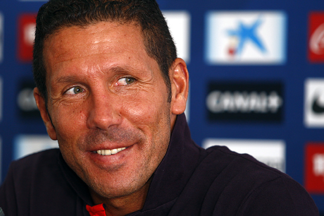 """Simeone: """"La afición viene con una alegría muy grande y seguro que vendrá al Estadio con muchísimo entusiasmo"""""""