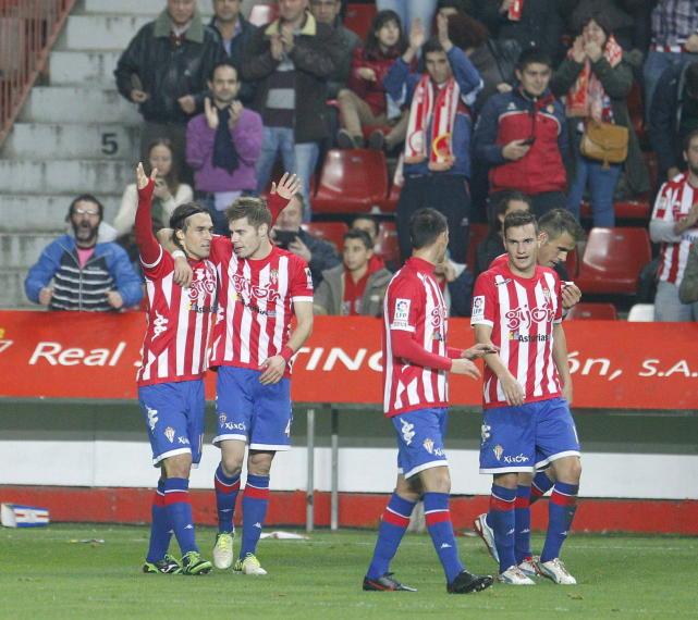 Sporting de Gijón - Huesca: puntuaciones Sporting, jornada 19