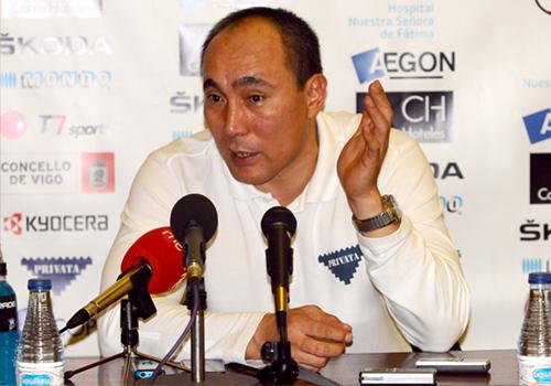 """Talant Dujshebaev: """"Aunque hayamos ganado, no me gustó nuestro partido"""""""