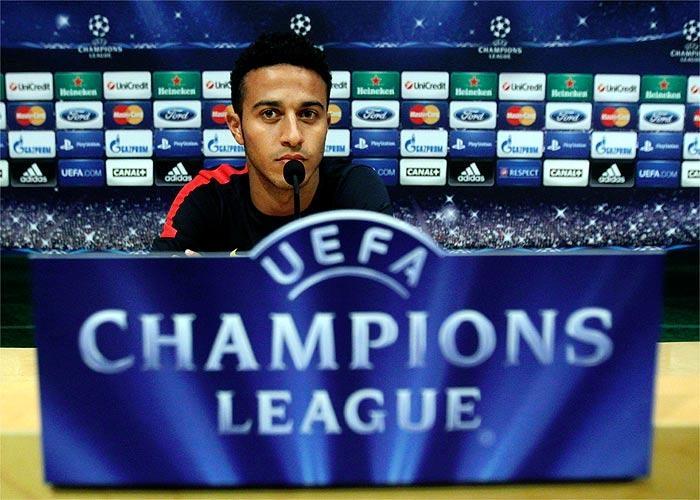 """Thiago: """"Estoy listo para jugar los noventa minutos"""""""