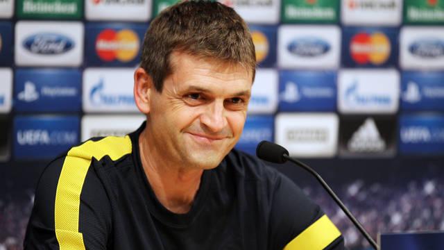 """Vilanova: """"No me supone ninguna presión debutar en Champions"""""""