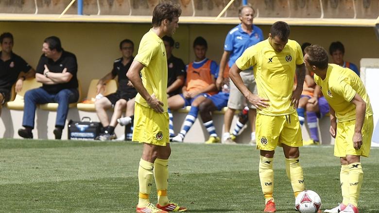 El Villarreal B salva un punto en el último minuto