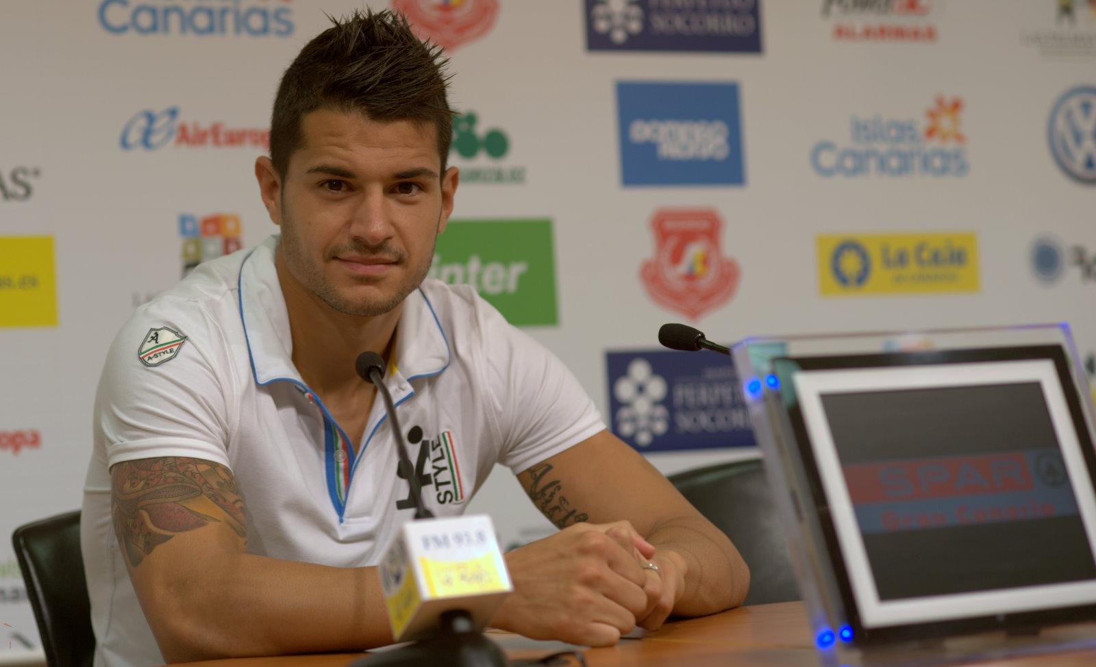 """Vitolo: """"No estoy atravesando mi mejor momento en lo futbolístico"""""""
