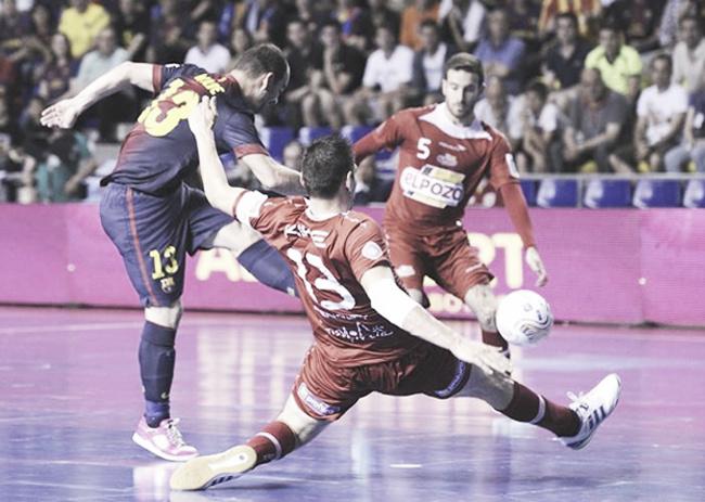 ElPozo Murcia - FC Barcelona Alusport: media Liga, en juego