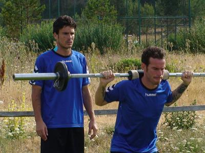 Fernando Vega y Zamora, bajas para el partido contra el Alcorcón