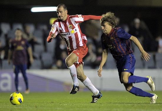 Barcelona B - Almería: viernes 17 de agosto a las 19:00