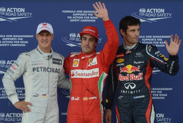 Pole para un impresionante Alonso