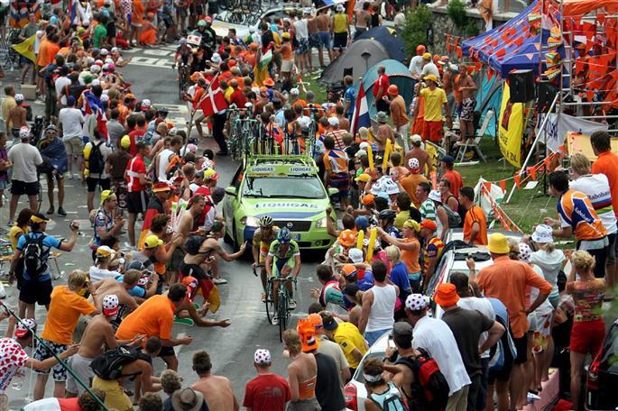 Tour de Francia 2013, centenario en las alturas