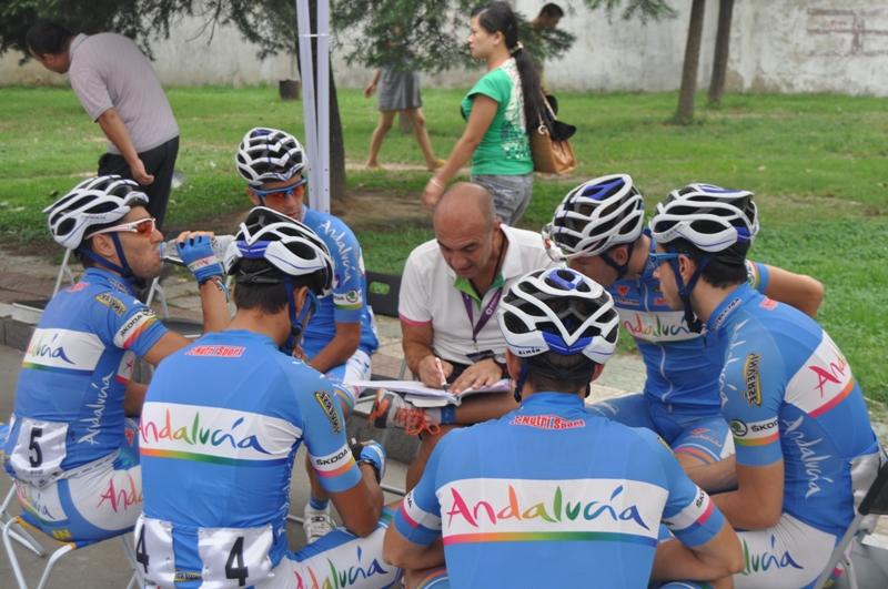 El equipo Andalucía desaparece del pelotón