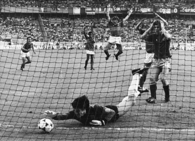 España en la Eurocopa: 1984, Arconada, de héroe a aliado francés
