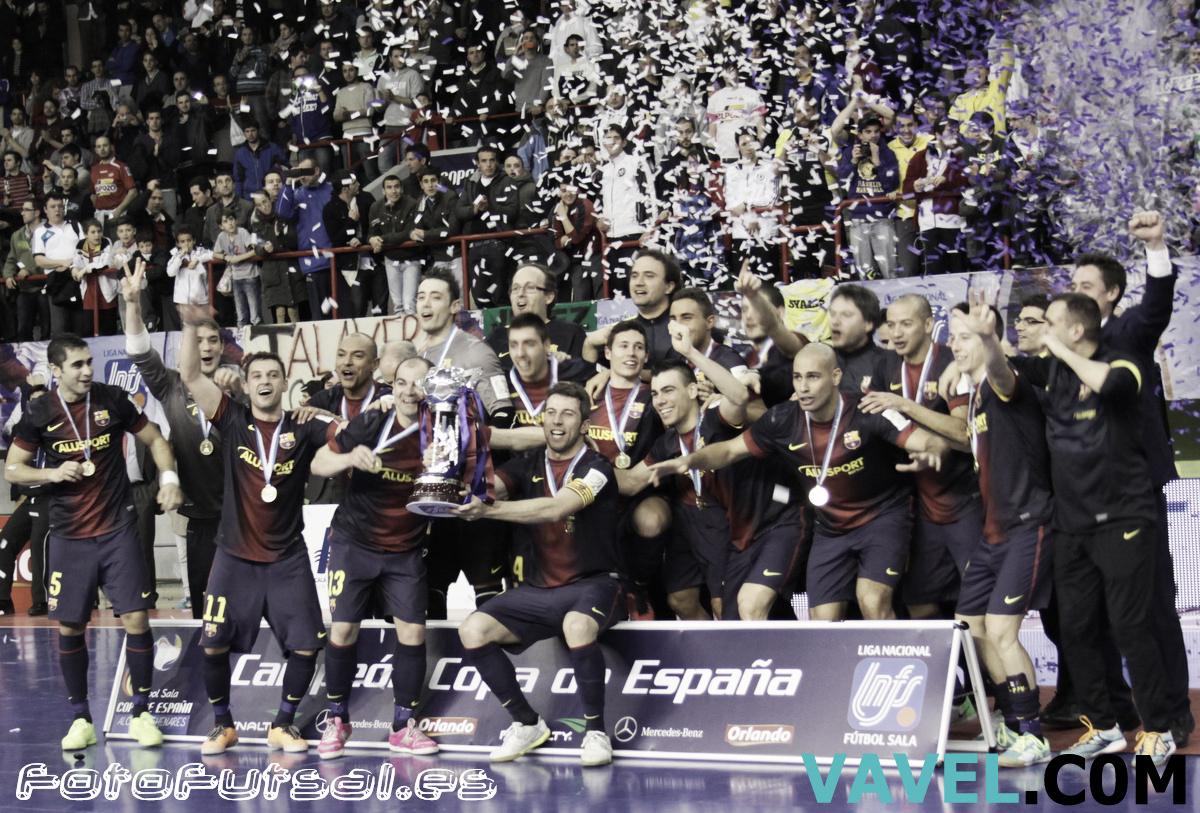 FC Barcelona Alusport, tricampeón de España