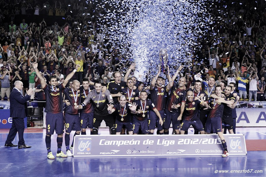 El FC Barcelona Alusport culmina su triplete de tricampeonatos