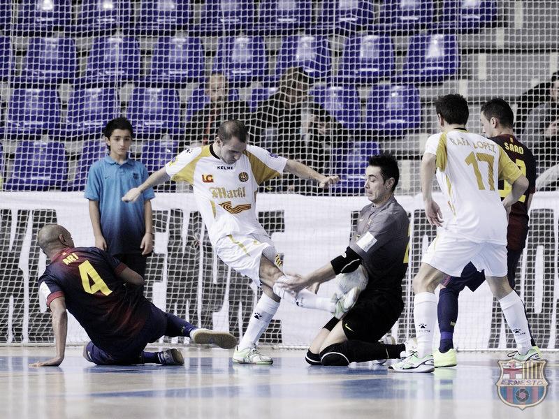 Marfil Santa Coloma - FC Barcelona Alusport: obligación por ganar