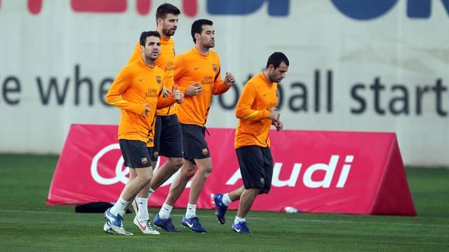 El Barcelona prepara la Champions con Messi de vuelta