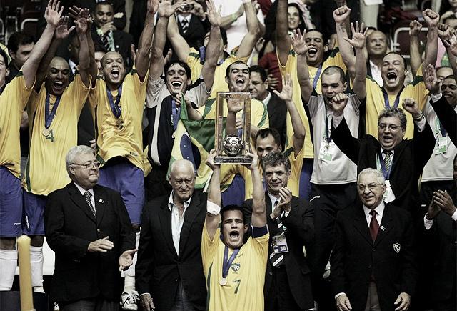Serial Mundiales de Futsal: Brasil 2008, dulce encumbramiento en casa