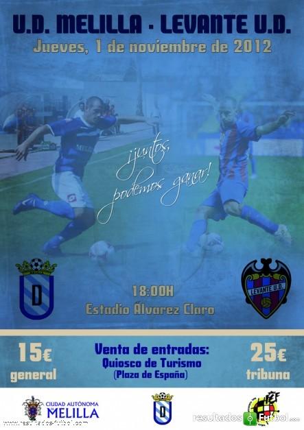 UD Melilla-Levante UD: partido de emociones y nostalgia