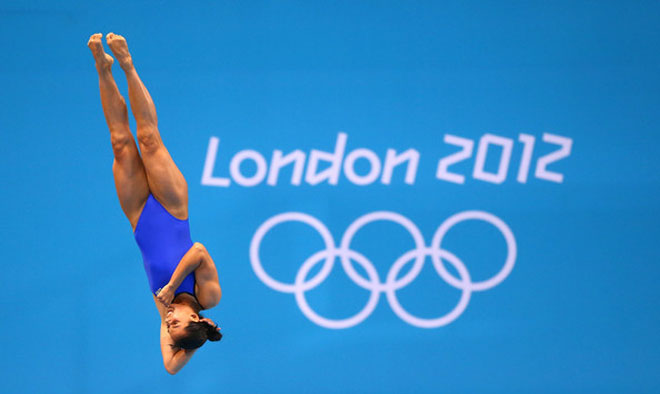 Laura Sánchez se baña en bronce