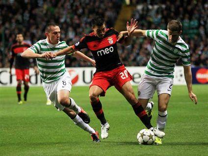 El Benfica sigue sin ganar en Glasgow